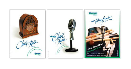 6mm Classic Radio Promotional Posters