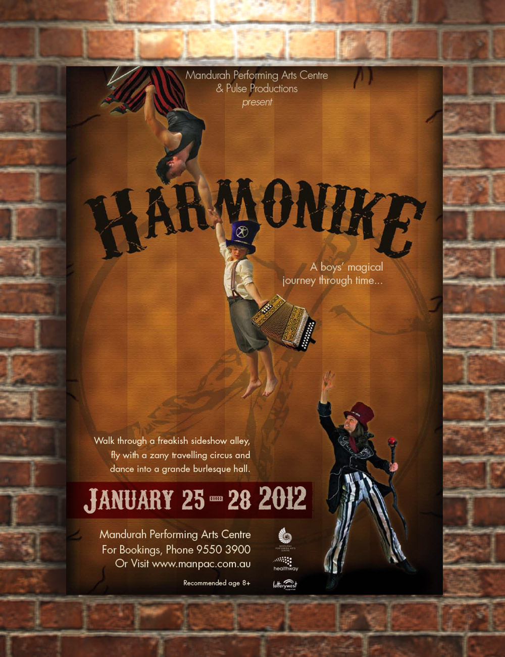 Harmonike Stage Play Promotional Poster