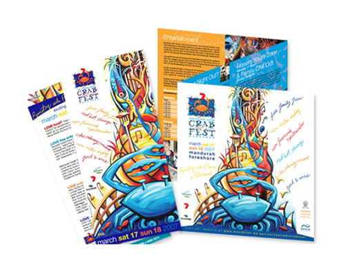 Crab Fest 2007 Direct Mail