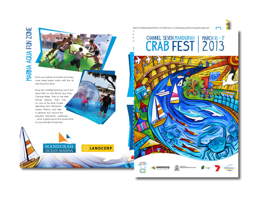 Crab Fest 2013 Direct Mail