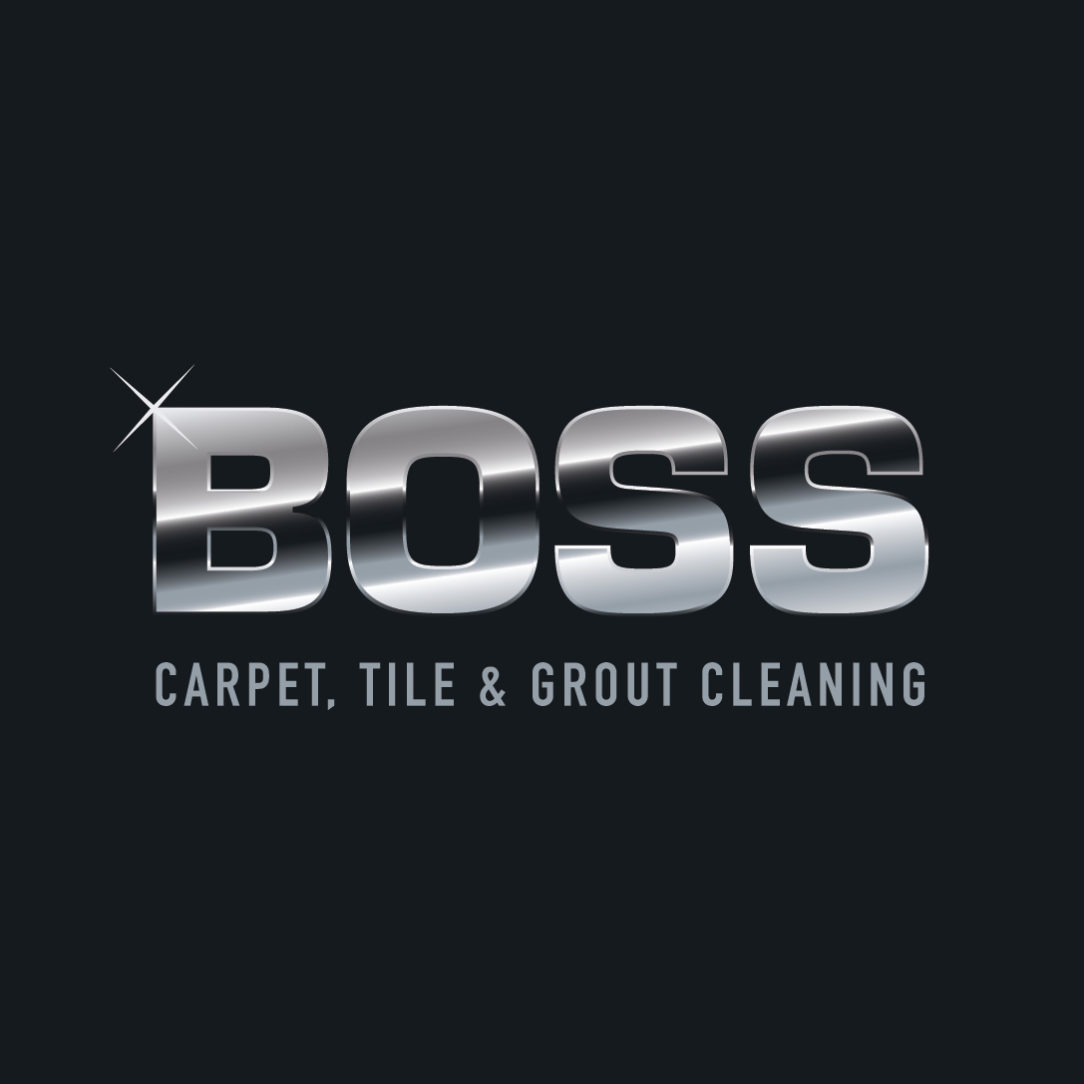 Boss carpet cleaning logo