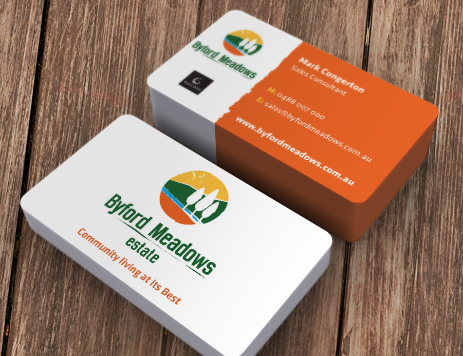 Byford Meadows Estate Business Cards Stationery