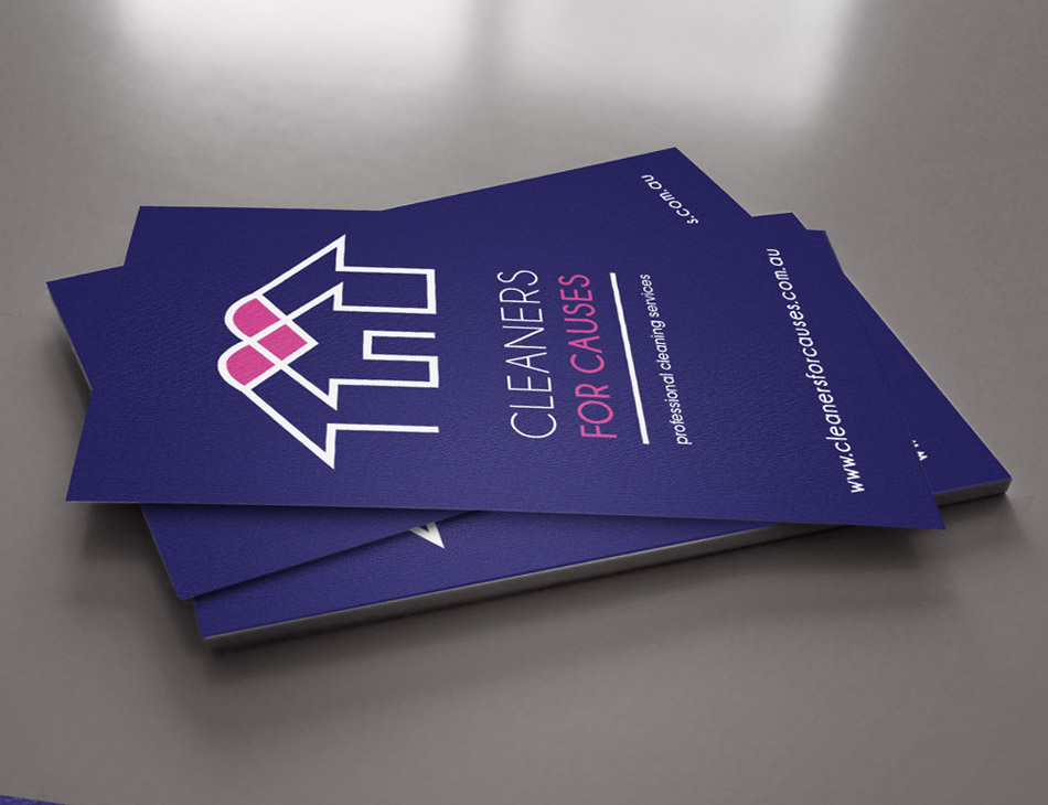 Cleaners for Causes Business Cards Stationery
