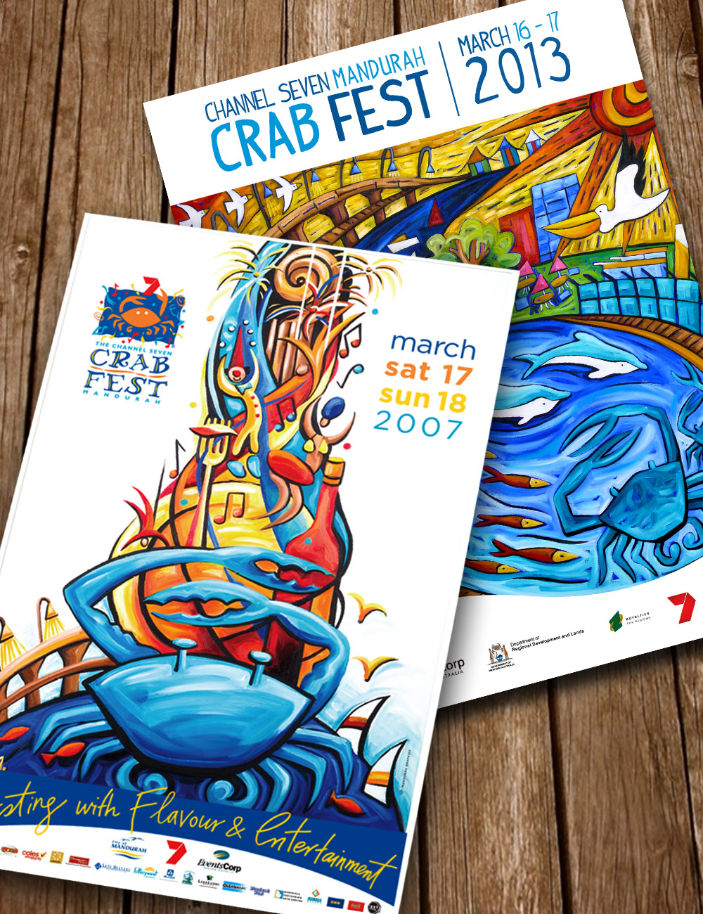 Crab Fest 2007 Promotional Posters