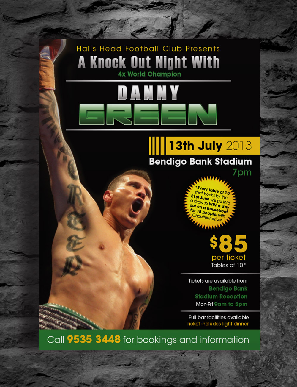 Danny Green Promotional Poster