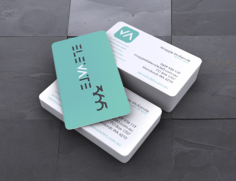 Elevate 365 business cards