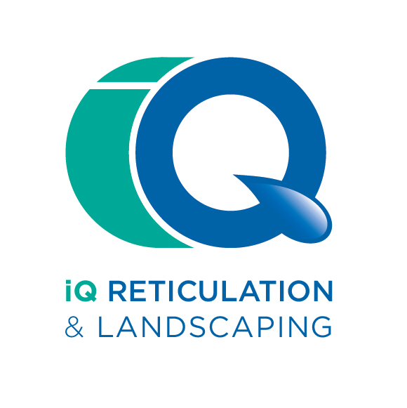 iQ Reticulation and landscaping logo