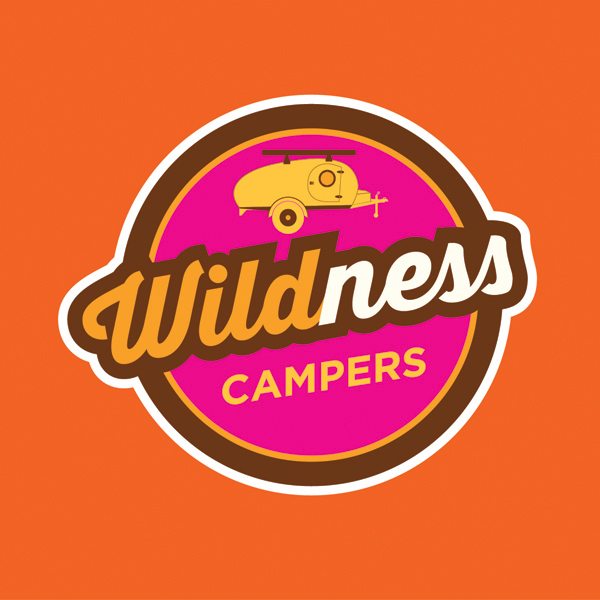 Wildness Campers logo design