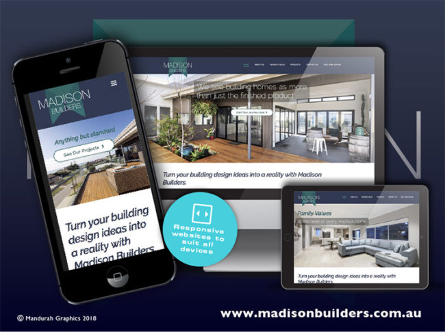 Madison Builders responsive website