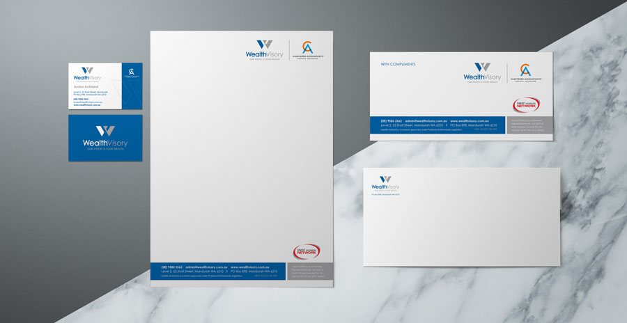 wealth visory stationery