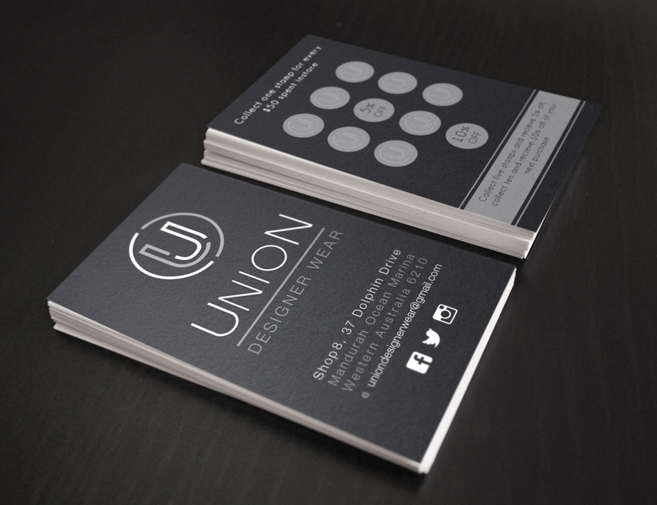 Union Business Cards Stationery