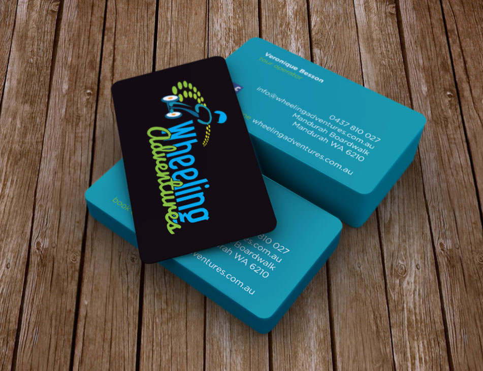 Wheeling Adventures Business Cards Stationery