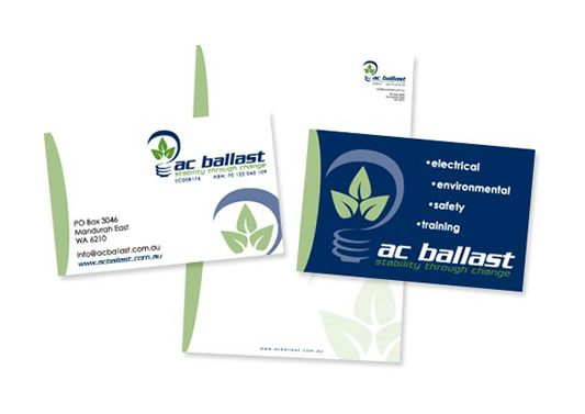 AC Ballast Branded Stationery