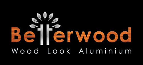 Betterwood Wood Look Aluminium Logo