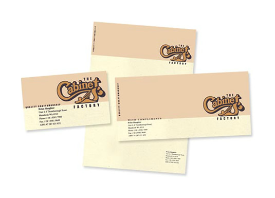 The Cabinet Factory Branded Stationery