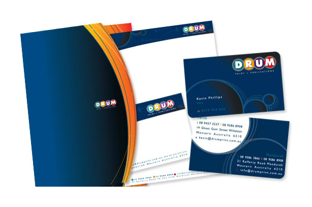 Drum Print Branded Stationery