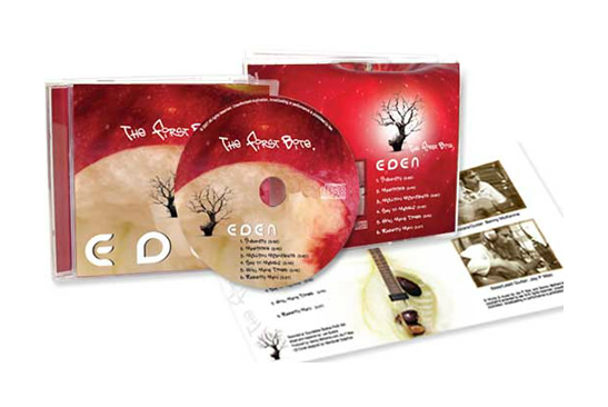 Eden CD Packaging