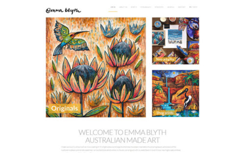 Emma Blyth Art online gallery and store