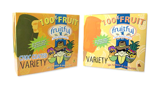 Fruitful Ice Cream Packaging