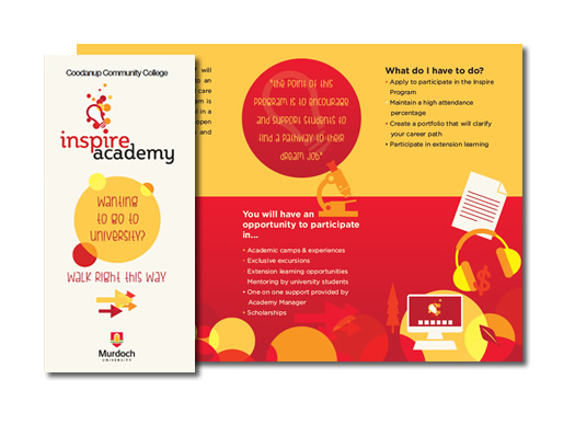 Inspire Academy Direct Mail