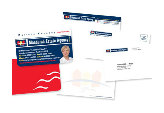 Mandurah Estate Agency Branded Stationery