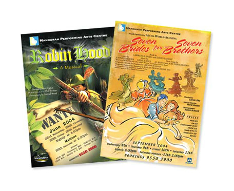 Mandurah Performing Arts Centre Posters