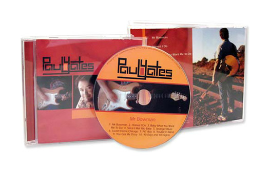 Paul Yates CD Packaging