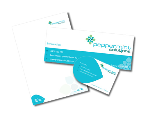 Peppermint Solutions Branded Stationery