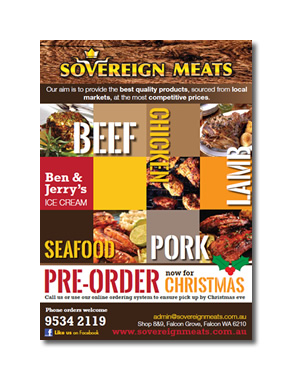 Sovereign Meats Promotional Poster
