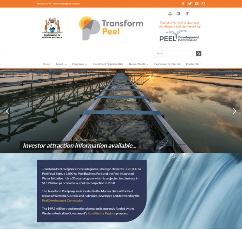 transform peel website
